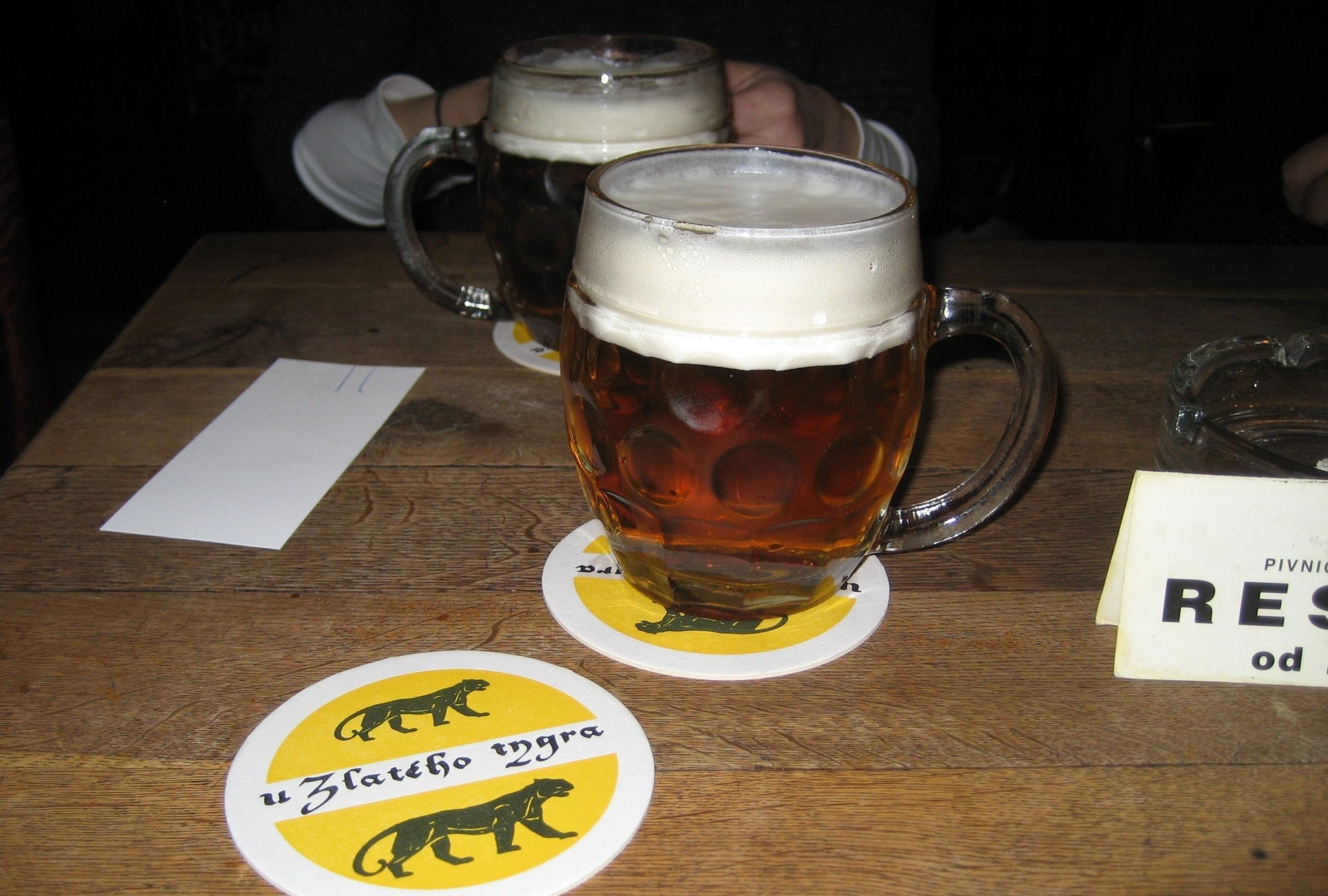 Olutta koko Prahalla