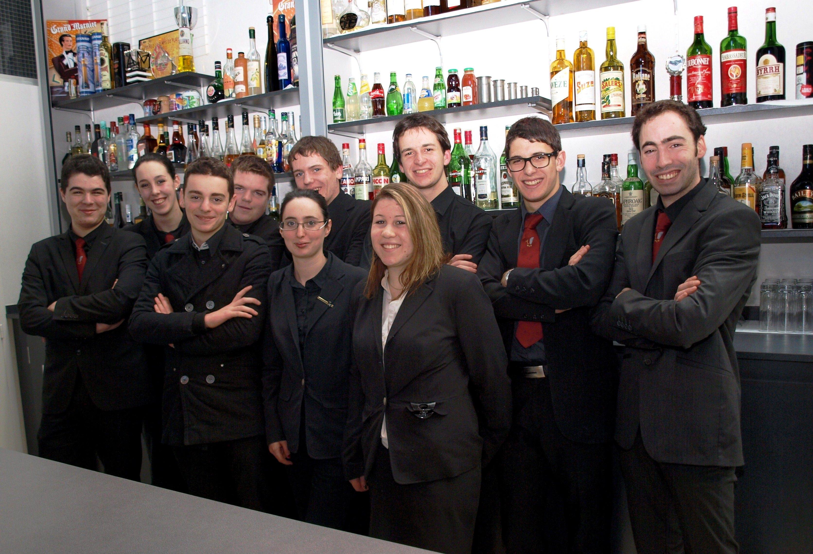 Ranskalaisessa ravintolakoulussa
