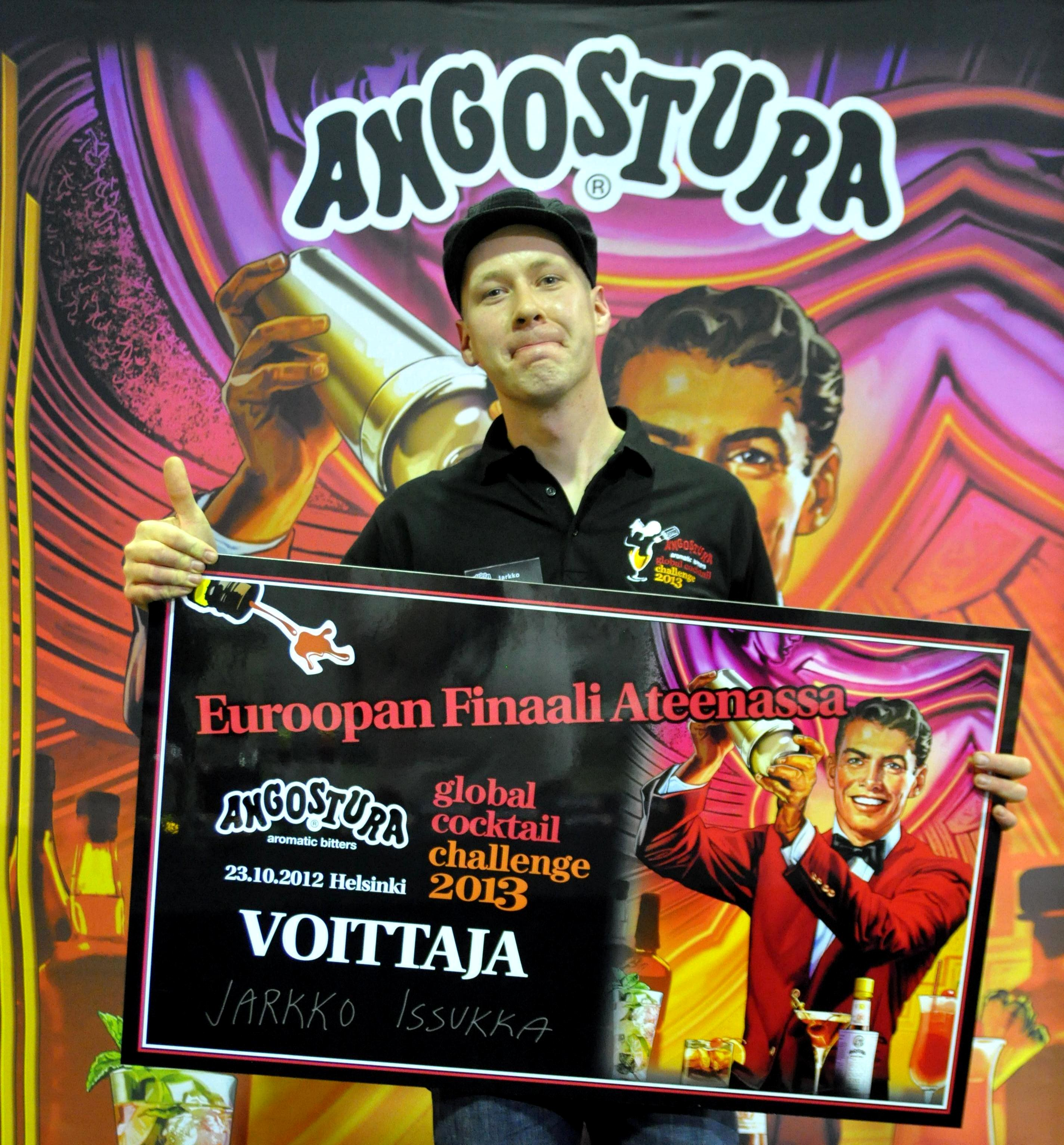 Angostura Aromatic Bitters Global Cocktail Challenge 2013 tuomarin ja kisajärjestäjän silmin