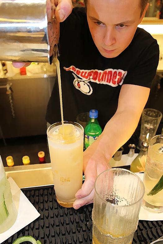 bartender above ordinary